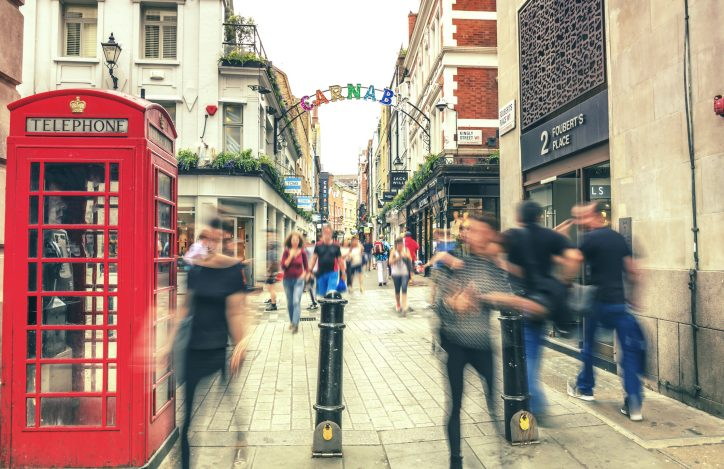 Carnaby Street Student London
